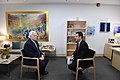 Ambassador Friedman interviews to Ch10 and Ch 2 (40496315090).jpg