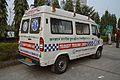 Ambulance - Force Motors - Traveller - Kolkata 2015-02-06 5789.JPG