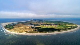 Ameland Municipality in Friesland, Netherlands