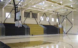 American Canyon High School - The gymnasium is the largest in Napa County.