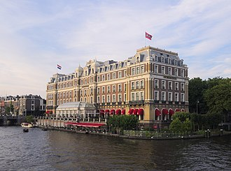 InterContinental Amstel Amsterdam - The Amstel Hotel on the bank of the Amstel river