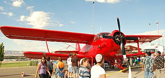 Antonov An-2 - An-2 at Grand Junction aviation show.