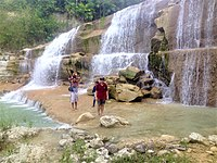 An Unnamed Waterfalls in Cebu, Philippines