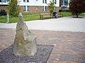 An unlabelled stone feature, Pollock Halls of Residence - geograph.org.uk - 1319107.jpg