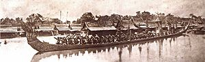 Royal Barge Procession - The royal barge Ananta Nakkharat (1865)