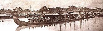 Royal Barge Procession - The royal barge Ananta Nakkharat (1865)