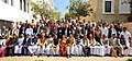 Ananth Kumar in a group photograph with the Ministers, Chief Whips and Whips in Parliament and State Legislatures, during the 18th All India Whips' Conference, at Udaipur, in Rajasthan.jpg