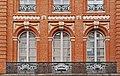 Ancien hôtel de Bonfontan - 41 rue Croix-Baragnon Toulouse - MériméePA00094534 - ferronneries de style rocaille, par Bernard Ortet.jpg
