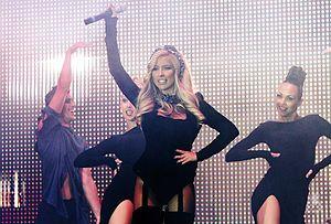 Andrea (Bulgarian singer) - Image: Andrea performing at the Planeta Summer Tour 2014