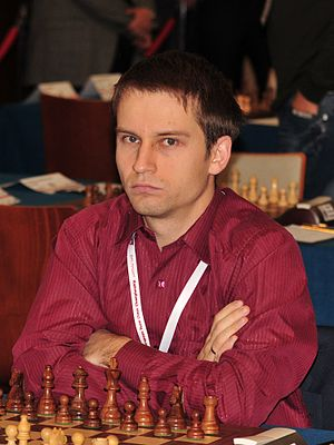 42nd Chess Olympiad - Andrei Volokitin of Ukraine won the individual gold medal in the Open event.