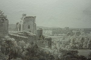 Andrew Wilson (artist) - Andrew Wilson, View from the Palantine Hills, Rome, 1801