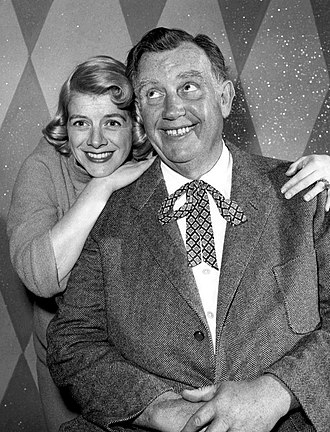 Andy Devine - Devine with Rosemary Clooney, 1958