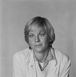 Angélique de Boer in 1979
