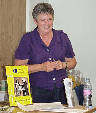 Angela Mason - Angela Mason, speaking at the CHE conference, 2010
