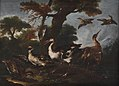 Angelo Maria Crivelli - Landscape with Birds - KMS1025 - Statens Museum for Kunst.jpg