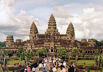 Hinduism in Southeast Asia - Angkor Wat, in Cambodia, is one of hundreds of ancient Hindu temples in southeast Asia.