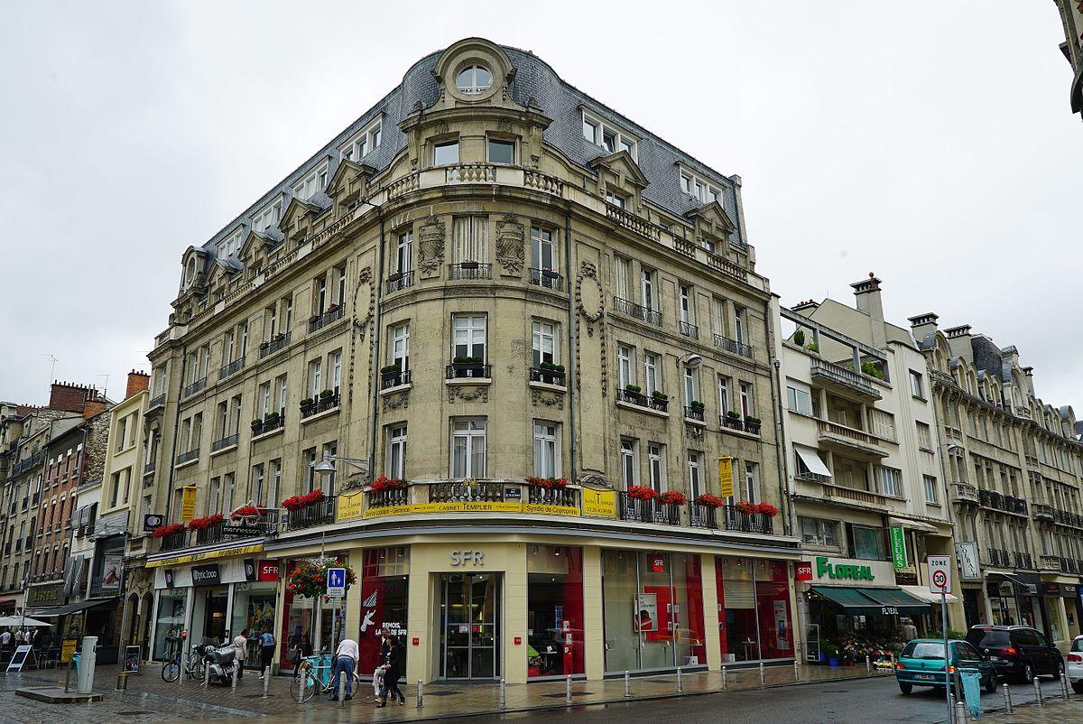 Rue condorcet reims wikip dia - Piscine talleyrand reims ...