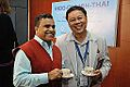 Anil Shrikrishna Manekar and Nattawut Chongamornkul - Indo-Finnish-Thai Exhibit Development Workshop - NCSM - Kolkata 2014-11-24 9520.JPG