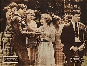 Anne of Green Gables (1919 film) - Lobby card depicting a film scene.