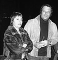 Annie Girardot and Renato Salvatori 1974 Rome.jpg