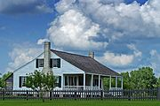 Anson Jones House in Washington-on-the-Brazos, Texas