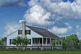 Anson Jones - Anson Jones House, now in Washington-on-the-Brazos, Texas