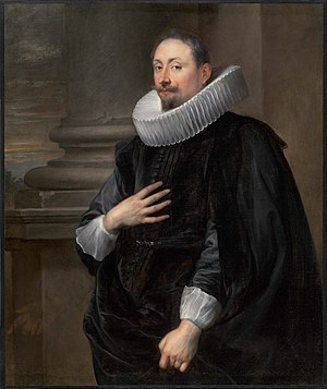 Peeter Symons - Portrait of Peeter Symons by Anthony van Dyck