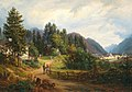 Anton Schiffer - A view of Bad Ischl.jpg
