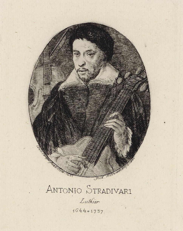 Antonio Stradivari portrait