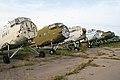 Antonov An-2 row at Chernoye, Russia (9120184678).jpg