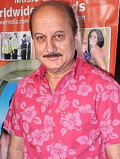 Anupam Kher Indian actor
