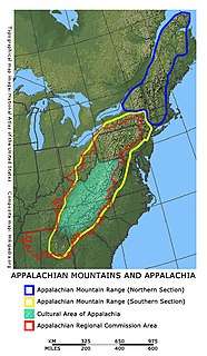 Environmental issues in Appalachia