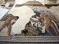 Appartamento della jole, sala 02, sala delle nozze, camino e affreschi di giovanni boccati da camerino, 02.JPG