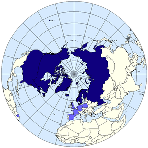 Arctic Council members map
