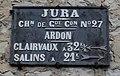 Ardon 39 - Plaque de cocher.JPG