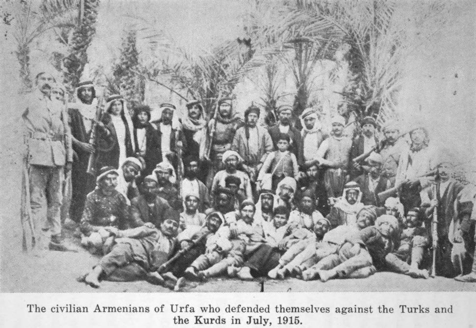 Armenian Resistance - Urfa - July 1915