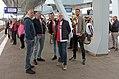 Arnhem-station, Feyenoord-supporters voor vertrek IMG 6385 2017-05-07 11.05.jpg