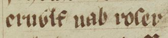 Arnulf de Montgomery - Image: Arnulf de Montgomery (Oxford Bodleian Library MS Jesus College 111, folio 67v)