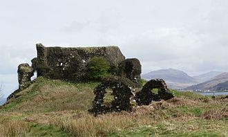 Mull - Aros Castle