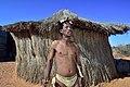 Arri Raats, Kalahari Khomani San Bushman, Boesmansrus camp, Northern Cape, South Africa (20353791569).jpg