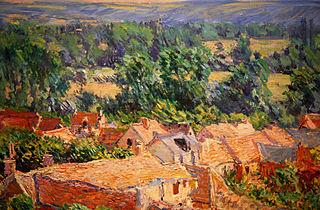 Vue du village de Giverny