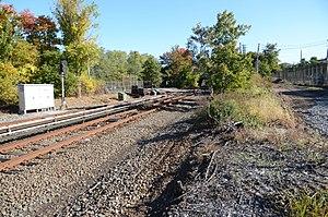 Arthur Kill (Staten Island Railway station) - Station site in October 2013