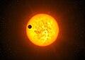 Artist's impression of exoplanet Corot-9b.jpg