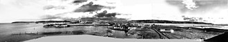 Asahel Curtis - Image: Asahel Curtis panorama from Centennial Mill showing Seattle in 1902 (retouched)