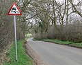 Asfordby Road towards Frisby on the Wreake - geograph.org.uk - 1242283.jpg