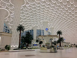 Ashgabat International Airport - Interior of the new terminal