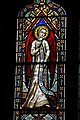 Ashwell, St Mary's church, Stained glass window detail (27122606497).jpg