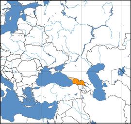 조지아의 위치