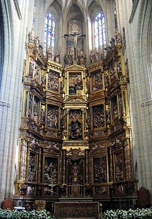 Gaspar Becerra - High altar of the Astorga Cathedral.