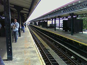 Astoria Boulevard (BMT Astoria Line) - Image: Astoria Boulevard Hoyt Avenue